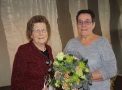 Bloemen voor Willy Noorderink-Heimgartner