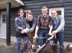 Team Klop Garderen fietst Alpe d'HuZes