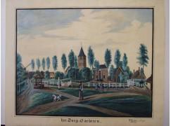 Zoektocht naar schilderij 'het dorp Garderen'