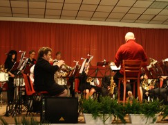 Noodlijdende muziekvereniging laat publiek genieten