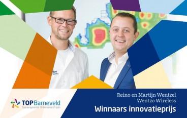 Wentzo Wireless wint innovatieprijs TOP Barneveld