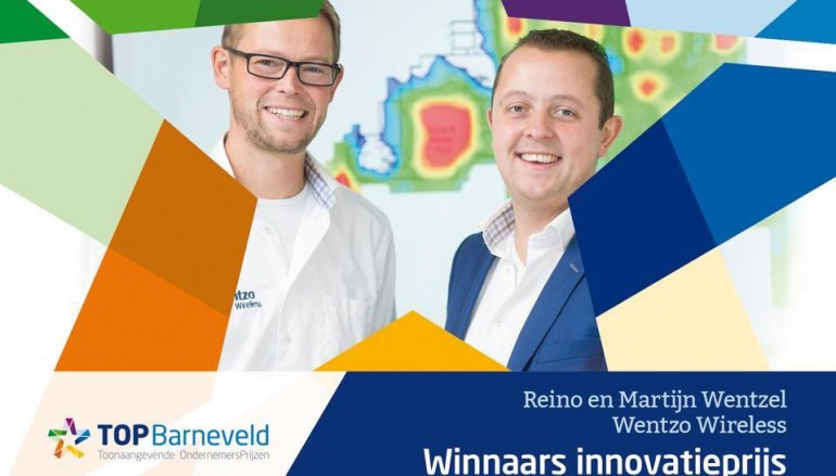 Wentzo Wireless wint innovatieprijs TOP Barneveld