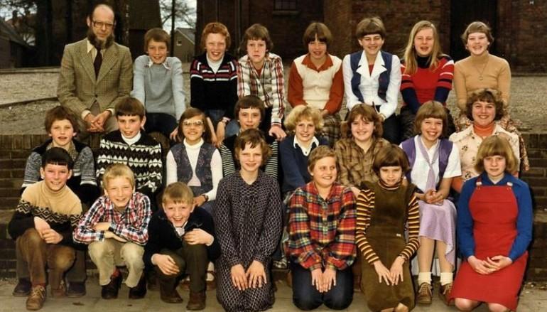 Reünie klas 6 1978 Prins Bernhardschool