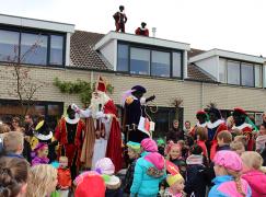 Super onthaal Sinterklaas in Garderen