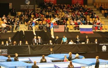 Anke en Tessa Boeve in de Finale van het WK Junioren