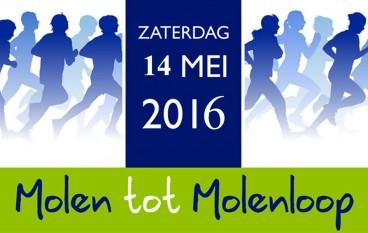 Garderense Molen tot Molenloop op 14 mei 2016