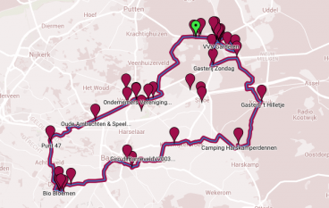 Fietsroute Giro di Barneveld