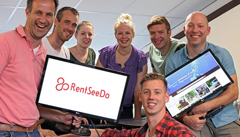 Nederlandse startup RentSeeDo.com op Web Summit Lissabon