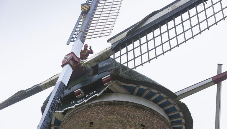 Molen De Hoop beschikbaar als expositieruimte