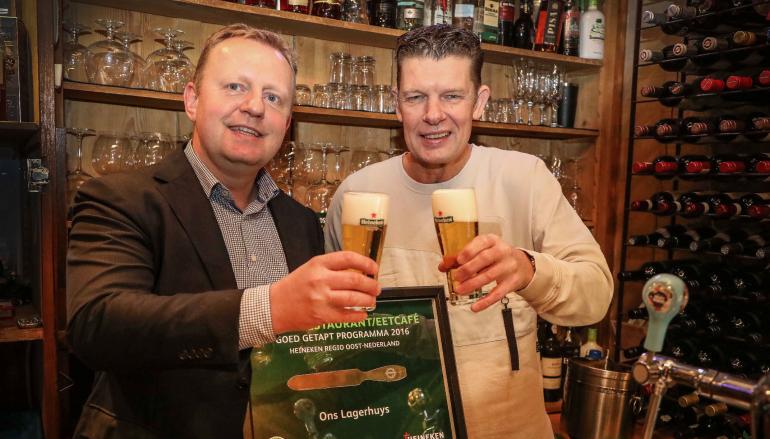 'Ons Lagerhuys' beste restaurant van Oost-Nederland