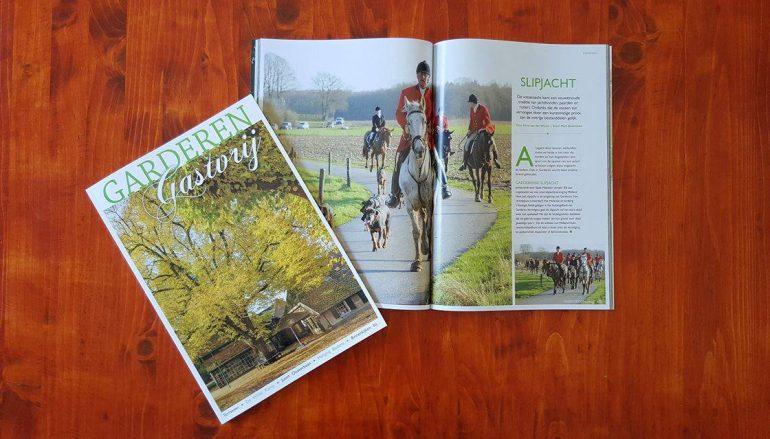 Succesvolle lancering glossy magazine 'Garderen Gastvrij'