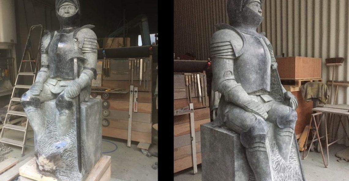 Nieuwe sculptuur Jan van Schaffelaar