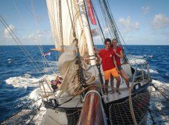 Leerlingen JFC al weken op zee