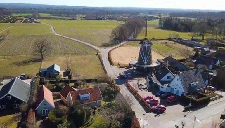 Garderen in beeld: het dorp vanuit de lucht