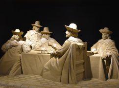 Schilderijen van Hollandse Meesters komen tot leven in zand