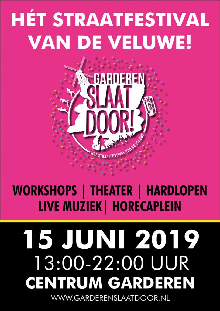 Poster Garderen Slaat Door 2019