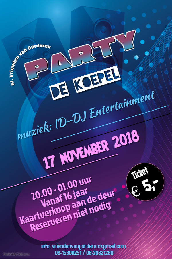 Time to Party in de Koepel