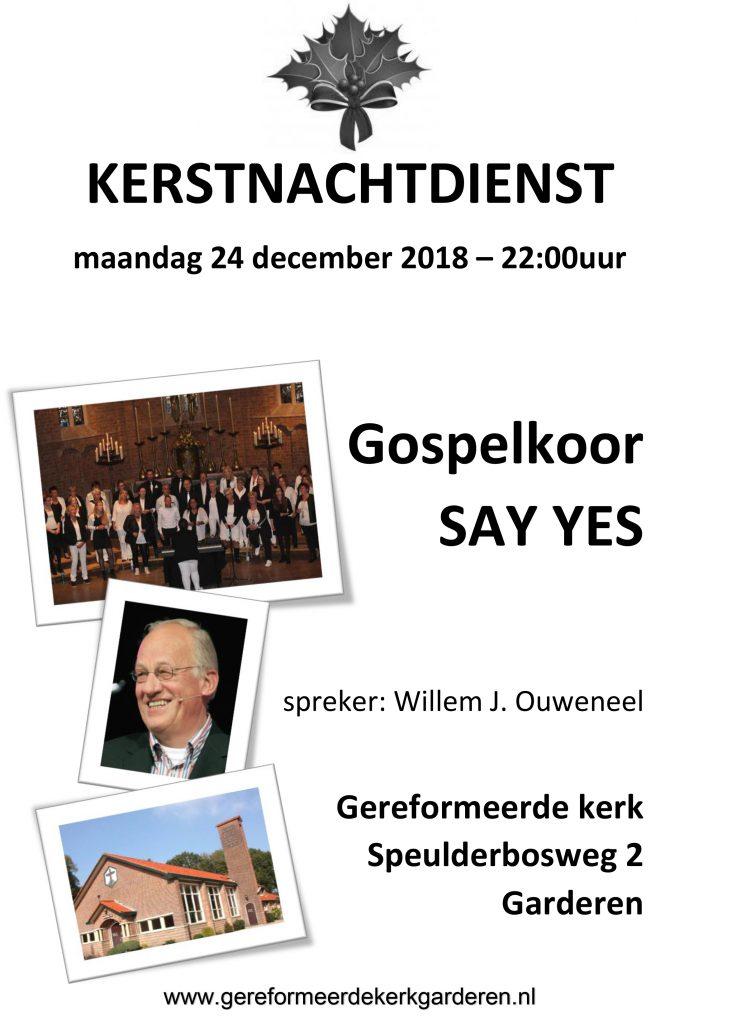 Kerstnachtdienst Gereformeerde Kerk