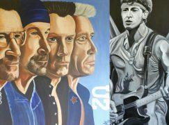 Expositie expressieve olieverfportretten in Putten