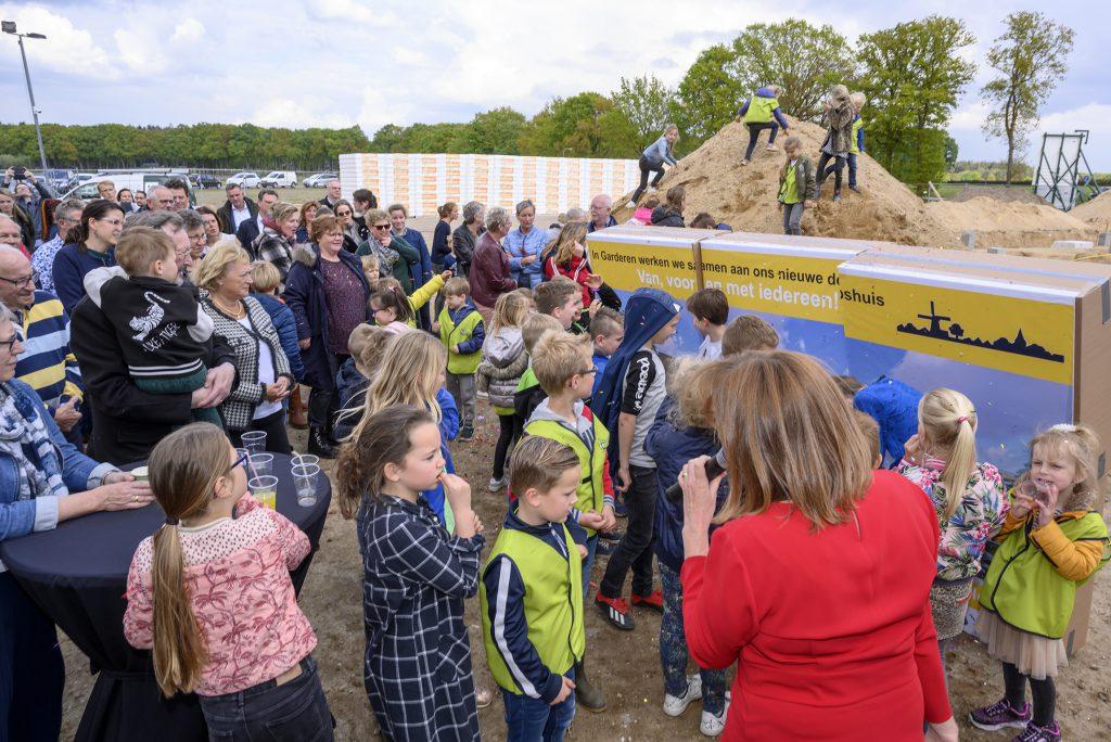 Officiële start bouw Dorpshuis Garderen