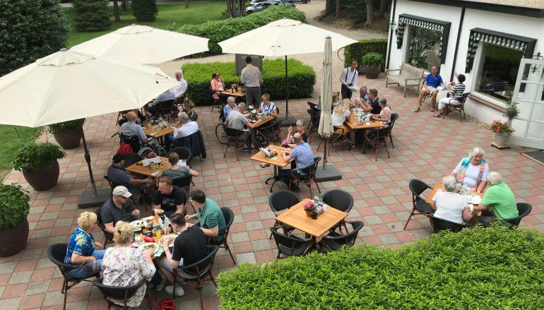 Zomerbarbecue bij Anastasius voor leden Garderense Ondernemersvereniging