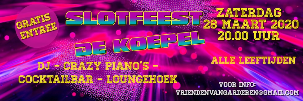 Slotfeest De Koepel